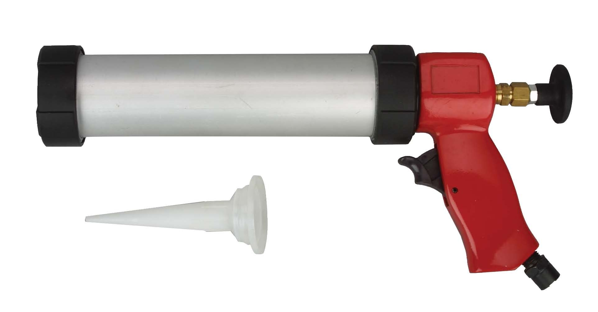 Wellmade Tools AG-3036 10.3-Ounce Sausage Pack Pneumatic Caulking Gun