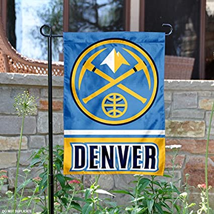 Image Unavailable. Image not available for. Color  Wincraft Denver Nuggets Double  Sided Garden Flag 14dc17628