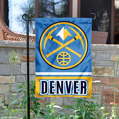 Denver Nuggets Garden Flag, Nuggets Garden Flag, Nuggets