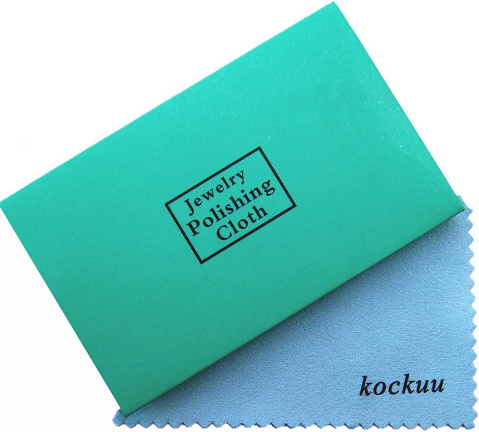 kockuu - Juego de 10 paños de Limpieza para Joyas (latón y Cobre ...