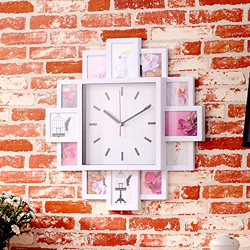 12 frame photo frames watch combination wall picture frame