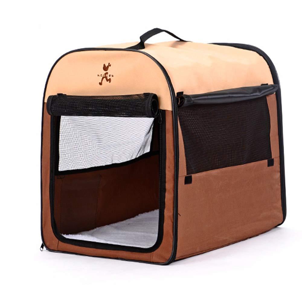 Miglior prezzo Tenda per Cani Tenda Yurt Lavabile Tenda Yurta Cane Cane Cane Piccolo Bichon Large Dog oroen Retriever Dog Cage (colore   Marronee, Dimensioni   L.)  negozio online