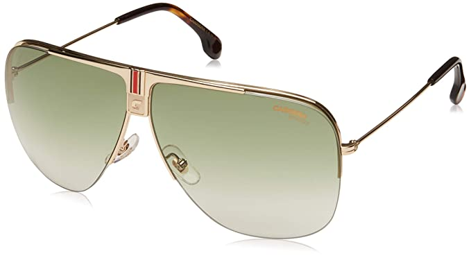 82ae5f1a5f Amazon.com  Carrera Unisex Carrera 1013 S Gold Grey Green One Size ...
