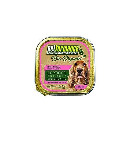 petformance Bio Organic Bandeja perro Becerro 300 g