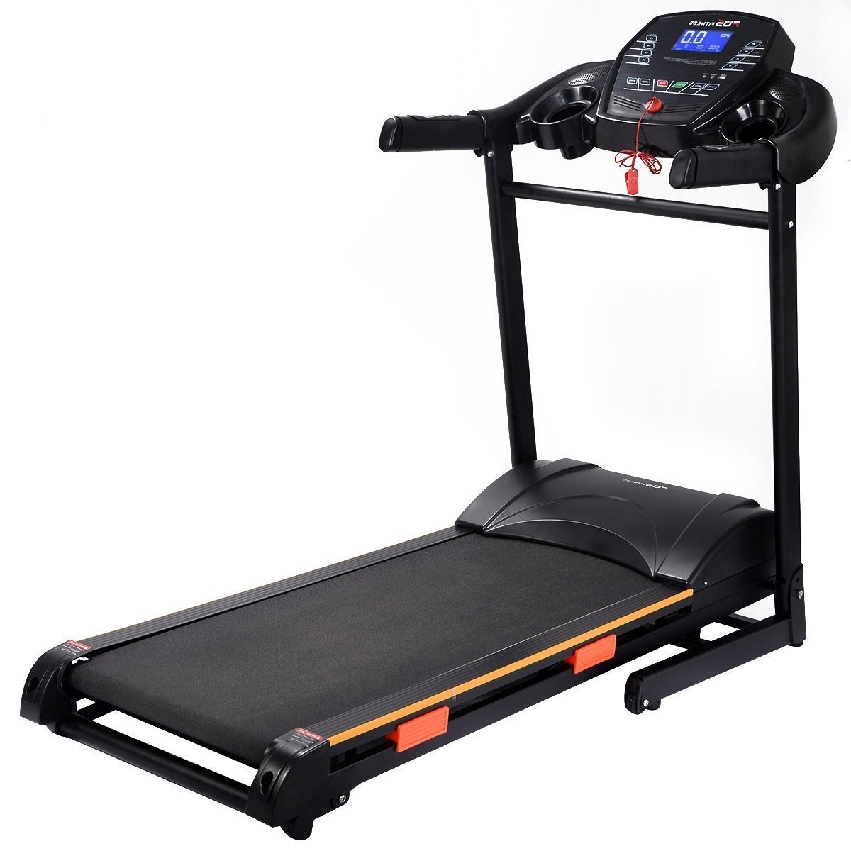 1000 W Folding Electric Treadmill Running Machine by Apontus