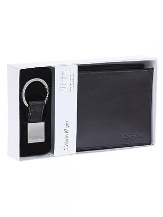 Amazon.com: Calvin Klein de los hombres cartera con llavero ...
