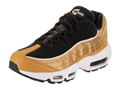new arrival df3ca 76e0b Nike Women s Air Max 95 LX Wheat Gold Wheat Gold Black Running Shoe 6 Women