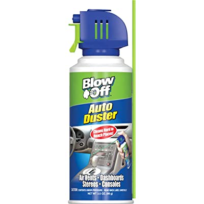 Blow Off 1056 Auto Air Duster - 3.5 oz.: Automotive