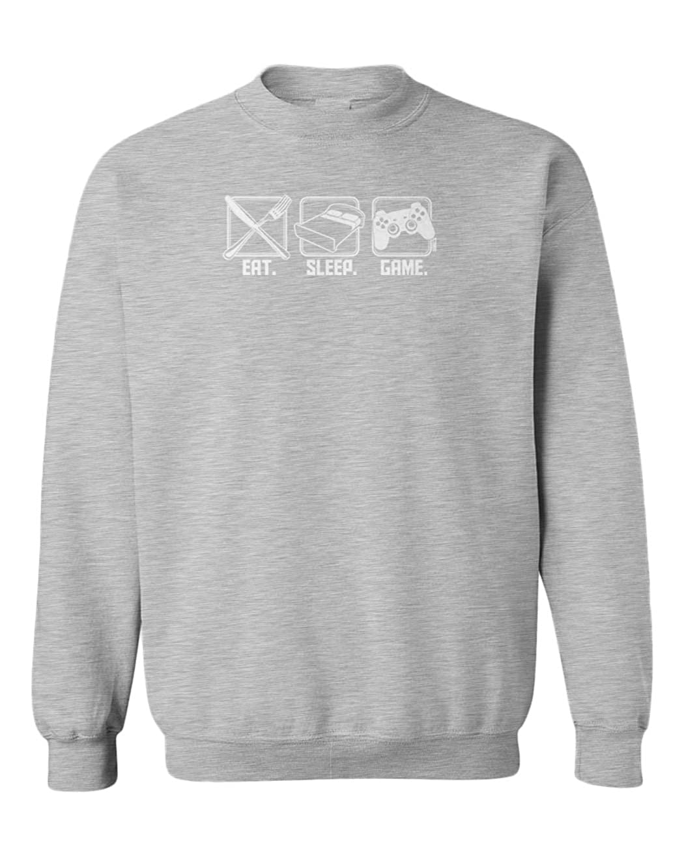 Eat Game Sleep - Video Games Gaming Youth Fleece Crewneck Sweater