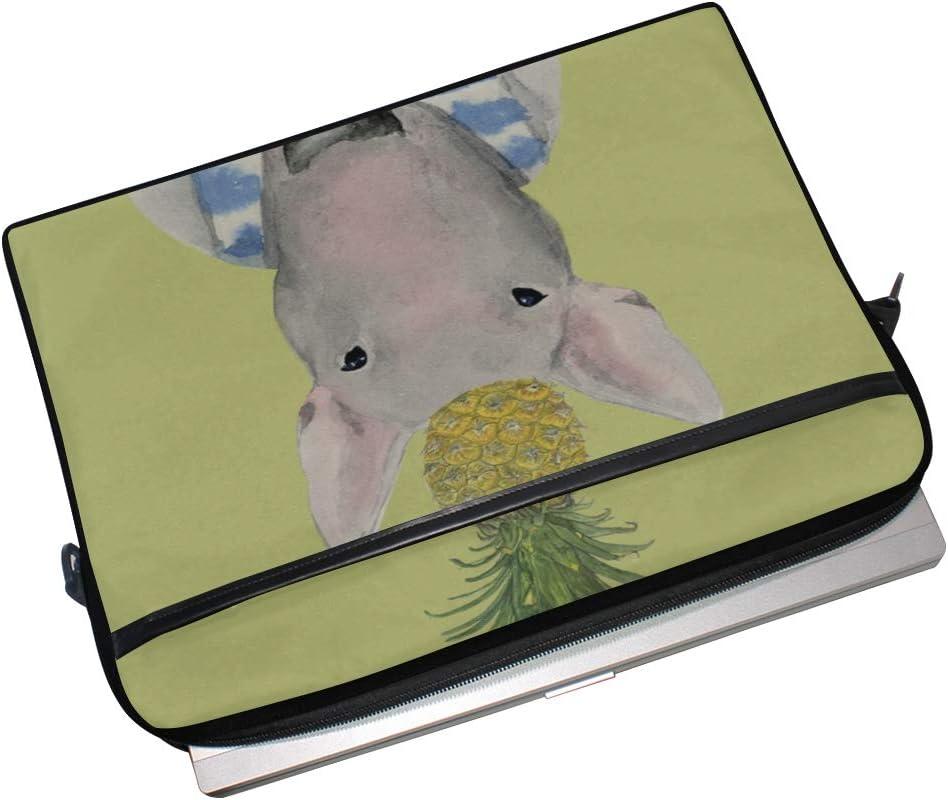 College Students Business People Office Workers Laptop Bag Bull Terrier Pine Grunge 15-15.4 Inch Laptop Case Briefcase Messenger Shoulder Bag for Men Women