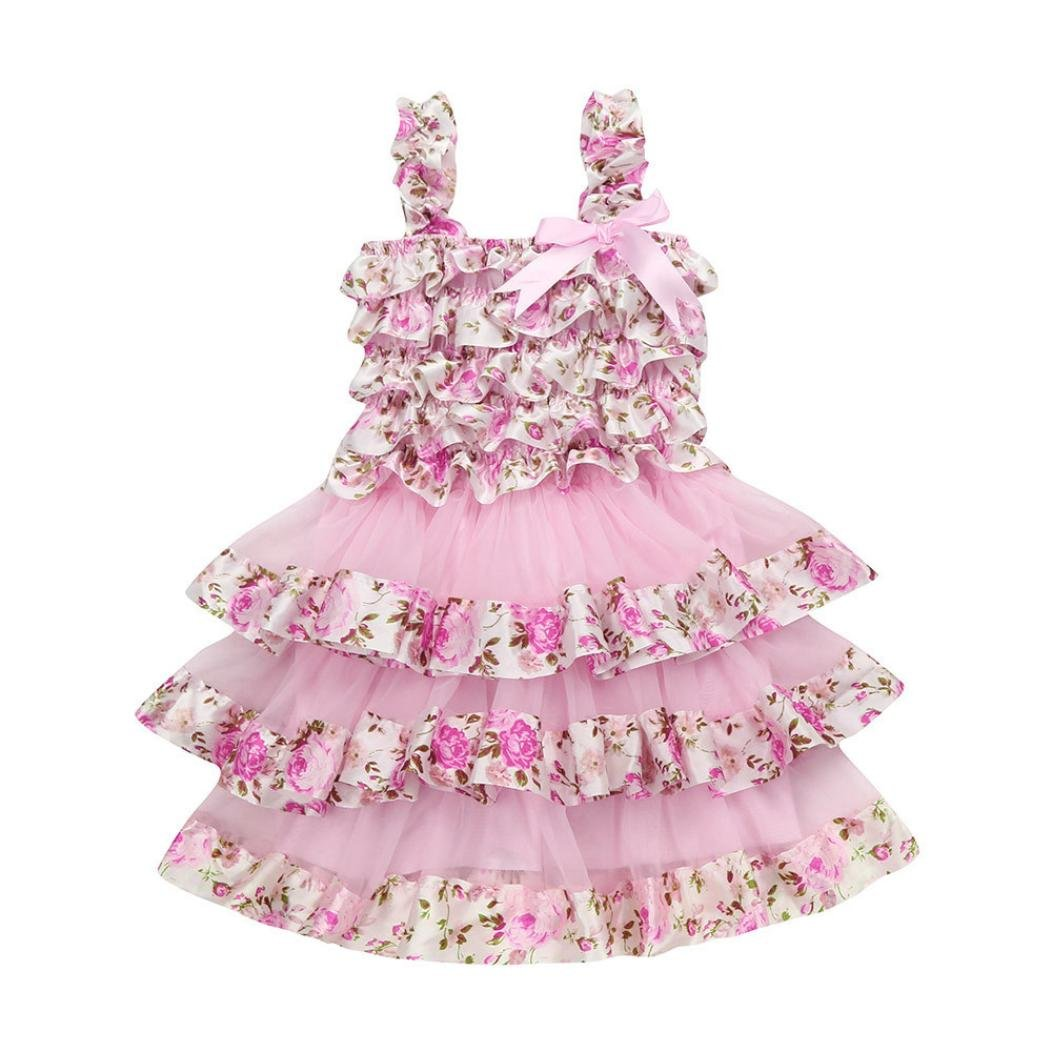 e621d897077f0 Gender:Girls---Baby Girls' 2-Pack Organic Cotton Dress Girls Unicorn Dress  Baby Toddle Girls Tutu Dress Short Sleeves Stripe Tulle Skirts Mini Dress,  ...