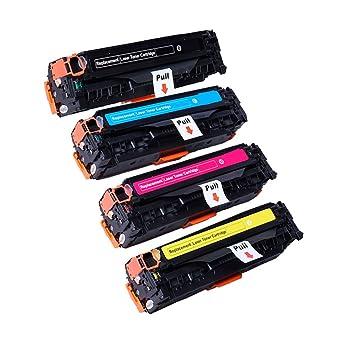 ECS Compatible Cartucho de tóner de Repuesto para HP Color ...