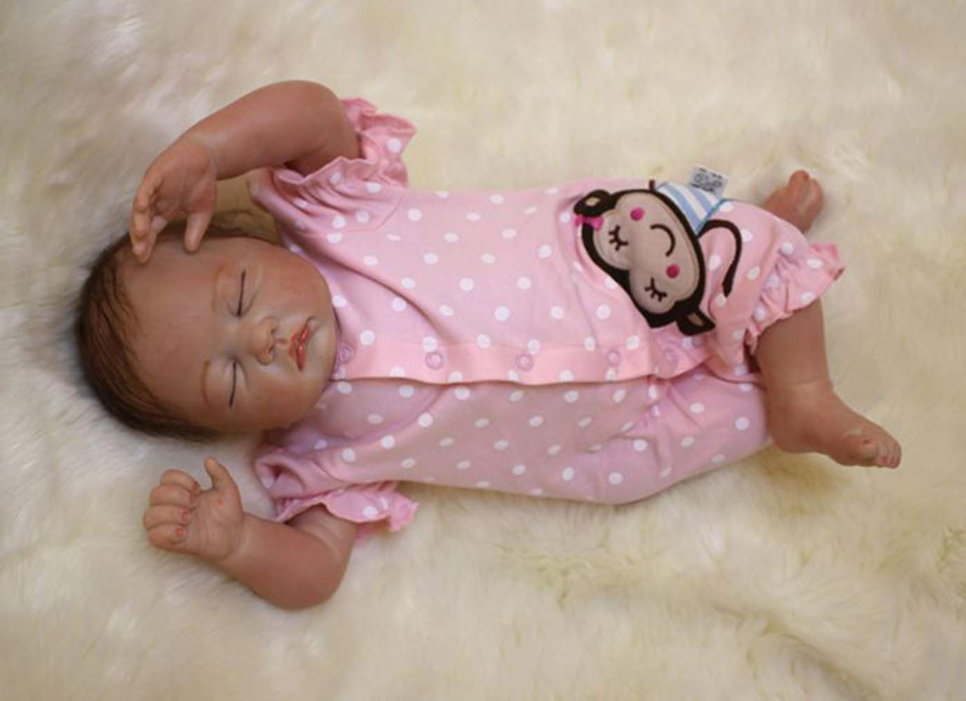 Wamdoll 21 inch A Moment in My Arms, Forever in My Heart Sleepy Reborn Baby Doll by Wamdoll