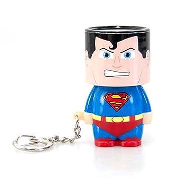 Llavero Clip-On Look-Alite con LED DC Comics - Superman ...