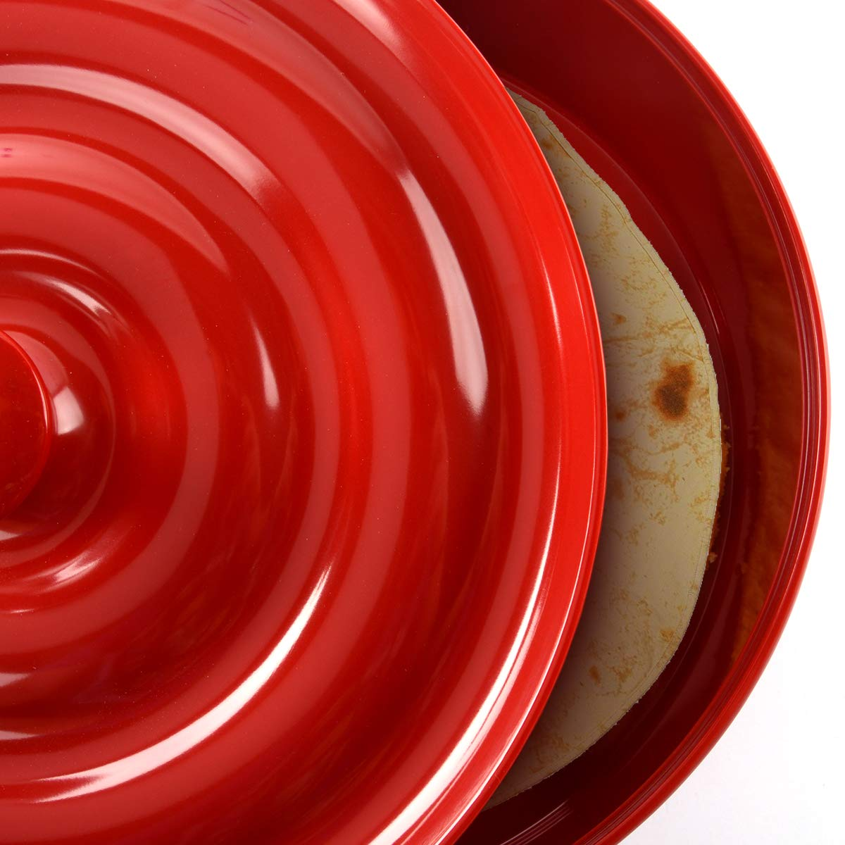 BPA-freier Kunststoff Prepara 4030-rth Tortilla Halter rot