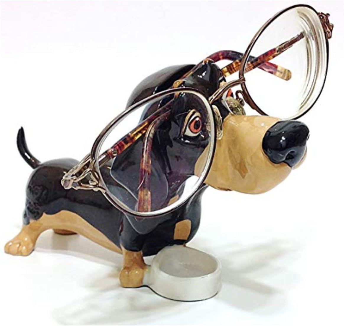 Dachshund Puppy Dog Breed Novelty Eyeglass Holder Stand