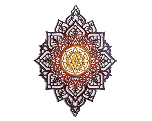 Mandala Wood Wall Decor