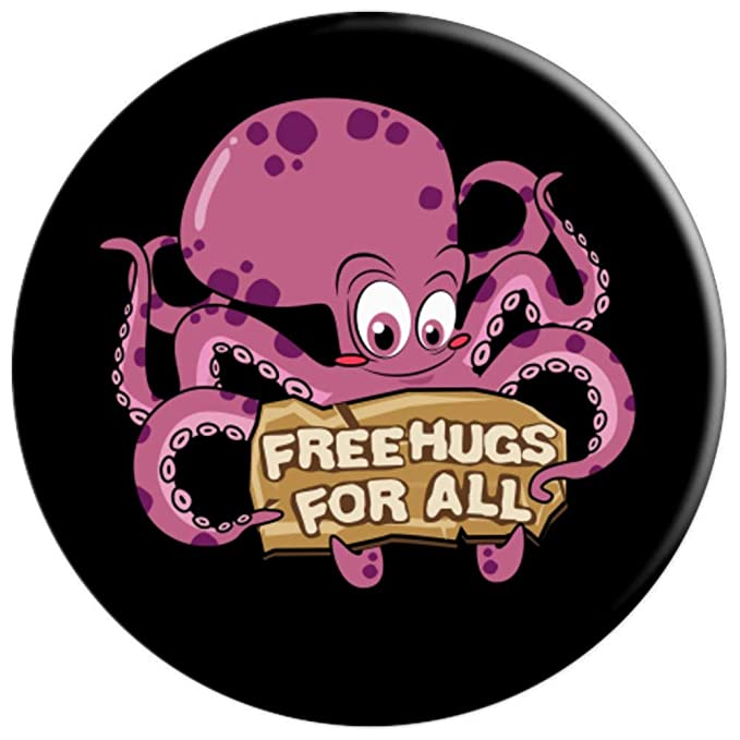 Amazon.com: Free Hugs Kawaii Octopus Clothes Kraken Squid ...