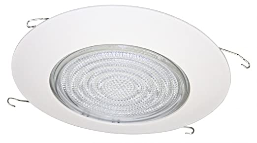 fresnel shower metal trim for 6 recessed can recessed light