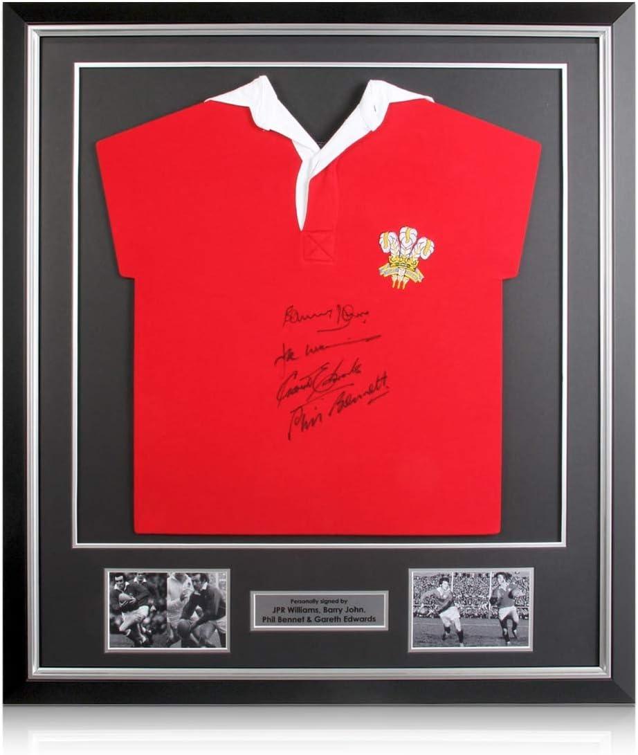 exclusivememorabilia.com Camiseta de Rugby de Gales firmada por ...