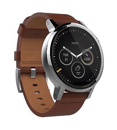 Motorola Moto 360 - Reloj inteligente, color negro: Amazon.es: Electrónica