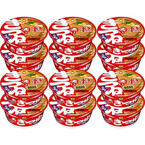 말상 빨간 여우 우동 동서 먹어 비교 세트(동:6개,칸사이:6개)