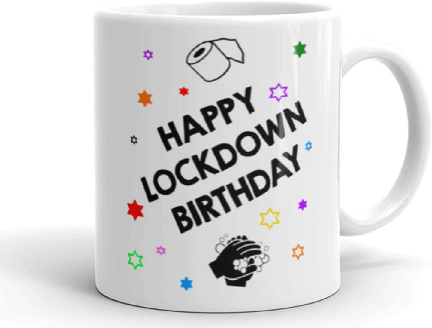 Happy Lockdown Birthday Mug Social Distance Mug Happy Birthday Mug Lockdown