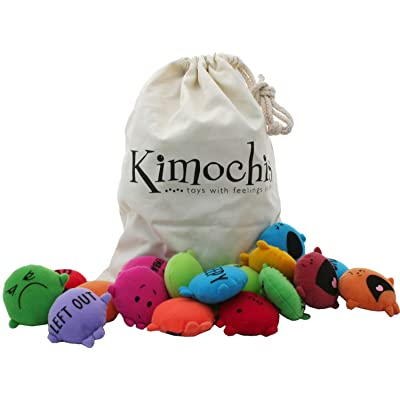 Kimochis 2086-MIXEDBAG Bag of Feelings Toy, Multicolor (Pack of 33): Toys & Games