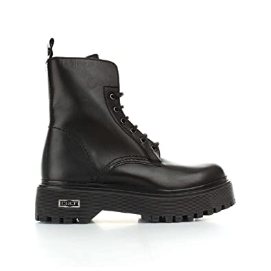 Cult Sabbath, Damen Combat Boots: : Schuhe