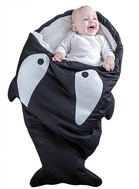 Amazon.com: Bebé Tiburón de dibujos animados bolsa de dormir ...