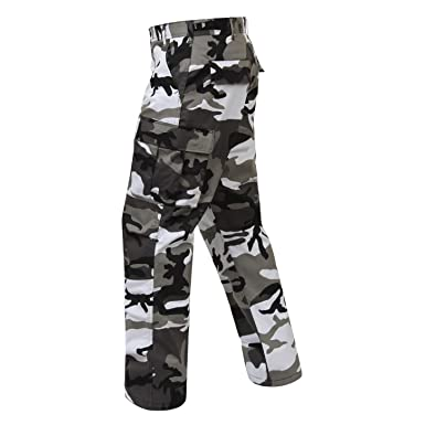 6564096e4a Amazon.com: Camouflage Military BDU Pants, Army Cargo Fatigues City  Camouflage: Clothing