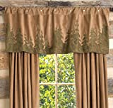 Cheap Black Forest Decor Forest Scene Rustic Valance – Rustic Window Accessories