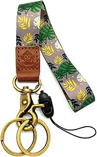 Amazon.com: Llavero de cuero con mosquetón de metal y ...