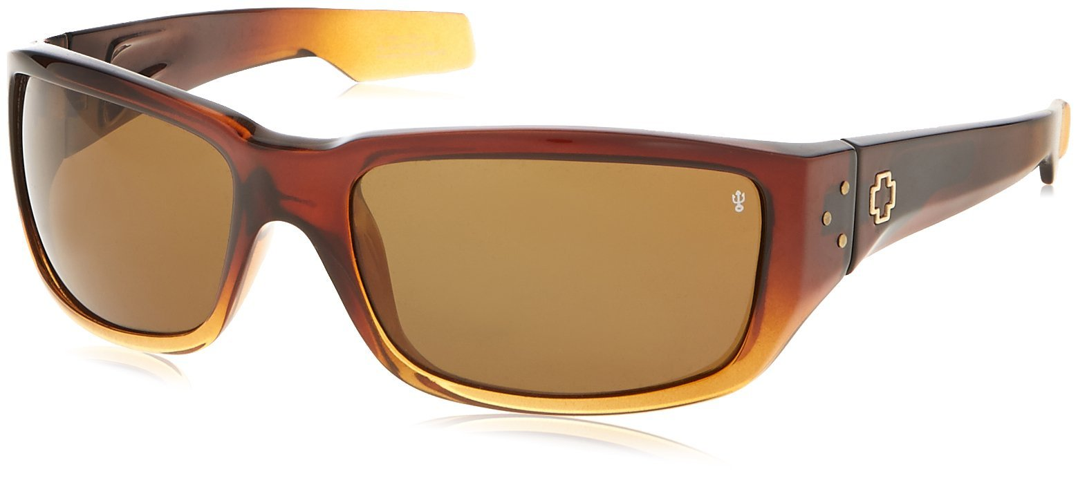 Native Eyewear Highline Polarized Sunglass, Maple Tort and Sand Frame/Bronze Lens