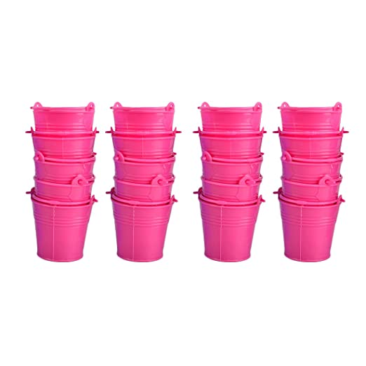 teckpeak - Juego de 20 Mini dispensador de caramelos seaus caja de gominolas bonbonnières para fiestas - Color al azar: Amazon.es: Hogar