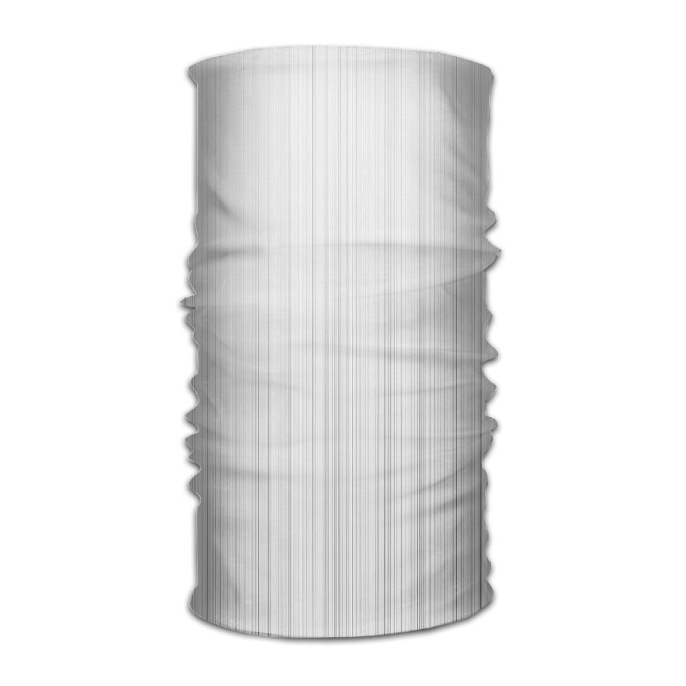 Headwear Headband Grey Lines Pattern Head Scarf Wrap Sweatband Sport Headscarves For Men Women