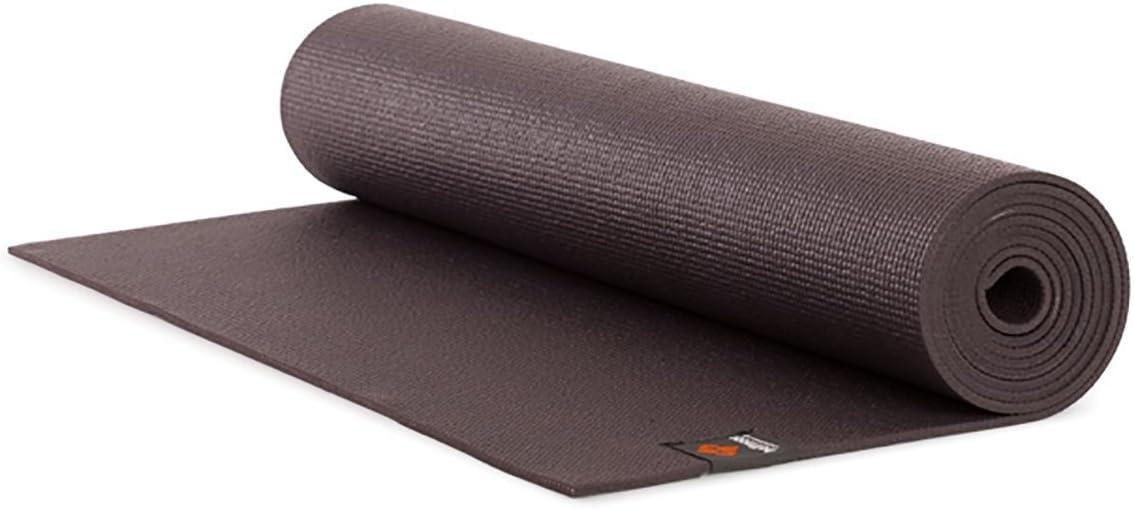 Halfmoon Womens Studio Yoga Mat, Charcoal, One Size