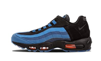 sale retailer 1cc0c 8e450 NIKE Air Max 95 LJ Lebron QS 822829-444 Game Time Blue Black 9.5