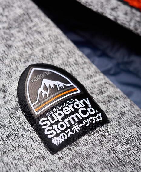 Superdry Herren Jacke Storm Ombre Hybrid