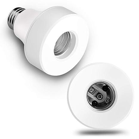 Amazon.com: Zenic Wifi Smart bombilla Socket compatible con ...