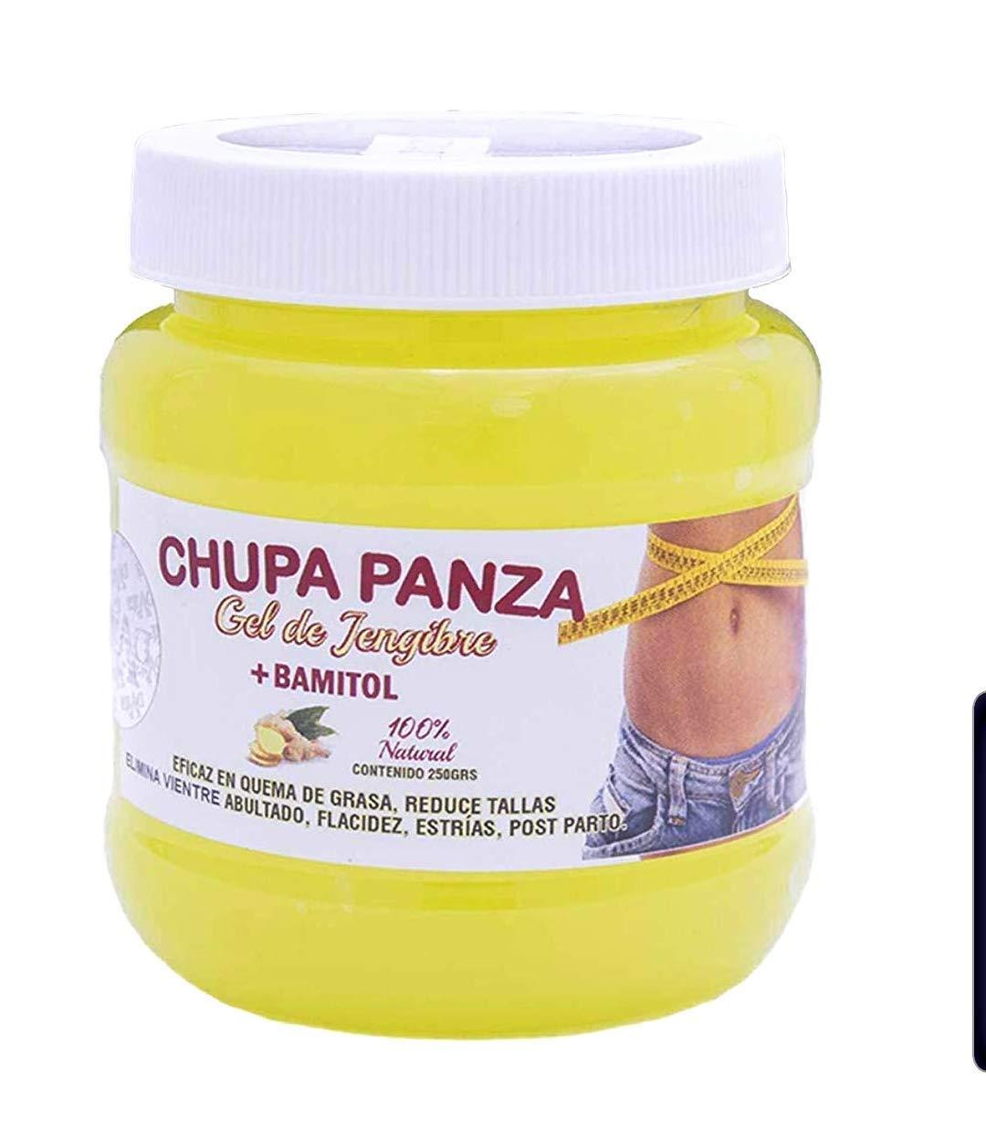 Chupa Panza Gel de jengire + bamitol 100% natural pieces of ginger