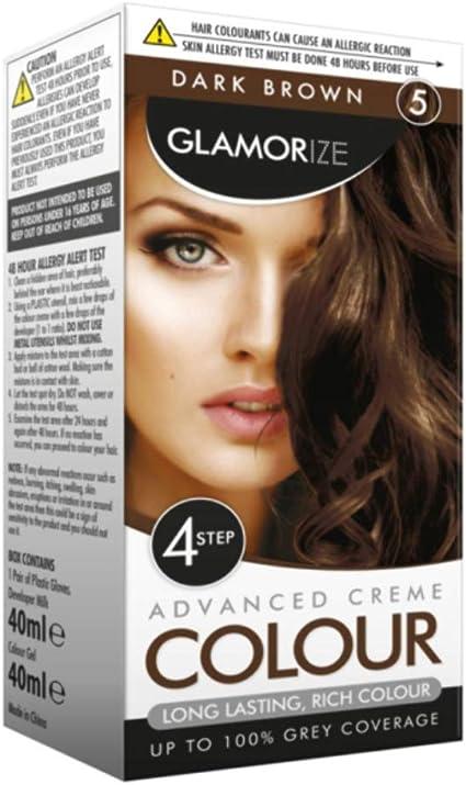 Glamorize crema color – Tinte permanente para pelo (6 ...