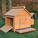 FeelGoodUK Coop House Chicken Coop, Larg