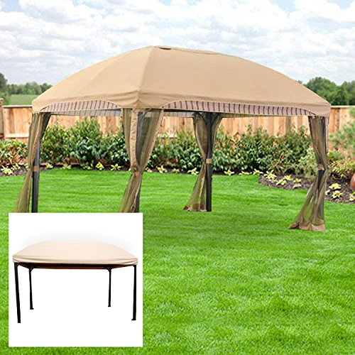 Garden Winds Replacement Canopy For The Menards Domed Gazebo   350