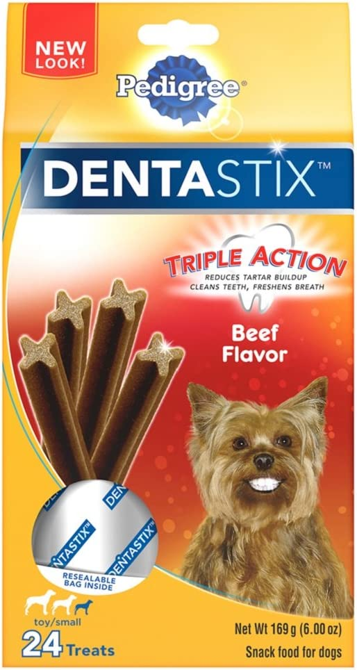 Pedigree Dentastix Dental Treats for Dogs Variety of Flavors – Toy Small 5-20 lb