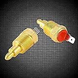 """Yosoo Fan Thermostat Temperature Switch, 210 to 195 Degree Electric Engine Cooling Fan Thermostat Temperature Sensor Switch, Fits 10"""" 12"""" 14"""" 16"""" Fan"""