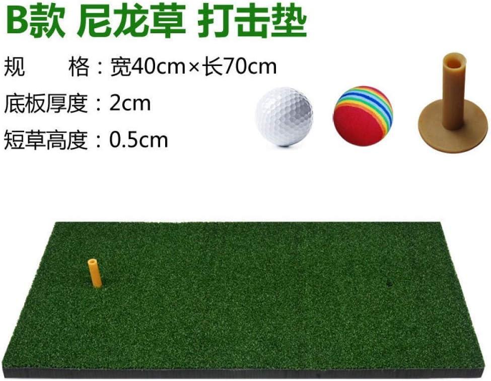 Oferta De Golf Mat Oscilación Cubierta De Práctica De Golf Mat Mat Mini Golf Suministros-Especial (no Hay Regalos) Hyococ (Color : Section B)