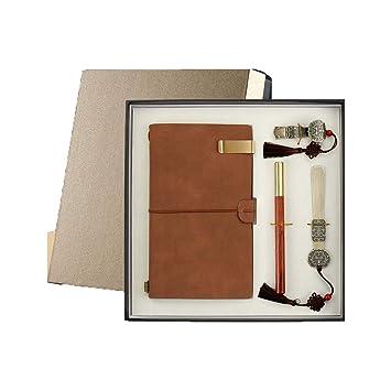 Muziwenju Estuche para Regalo, Cuaderno y bolígrafo. Estuche ...