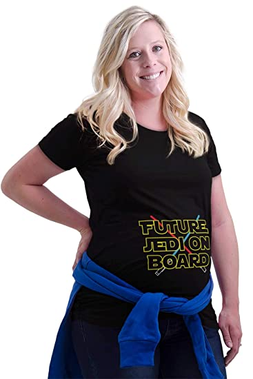 894fc8ca1 Future Space Ranger On Board Expecting Maternity T Shirt at Amazon ...