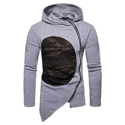 Amazon.com: Clearance Mens Coat Muranba Hooded Camouflage ...